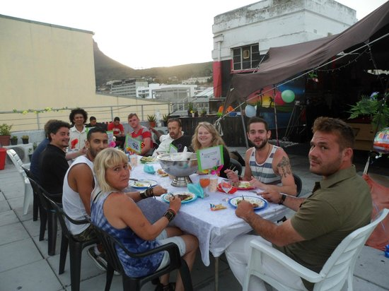 Penthouse on Long: Family dinner