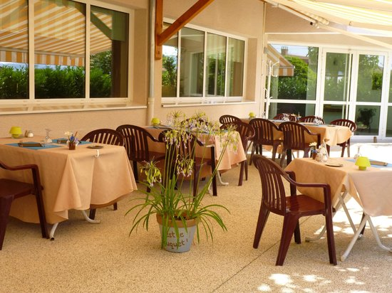 Le Chatard Hotel: TERRASSE