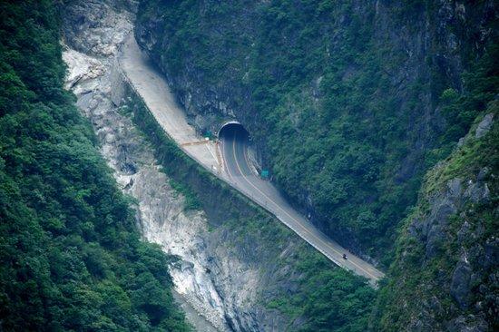Zhuilu Old Trail: 俯瞰太魯閣