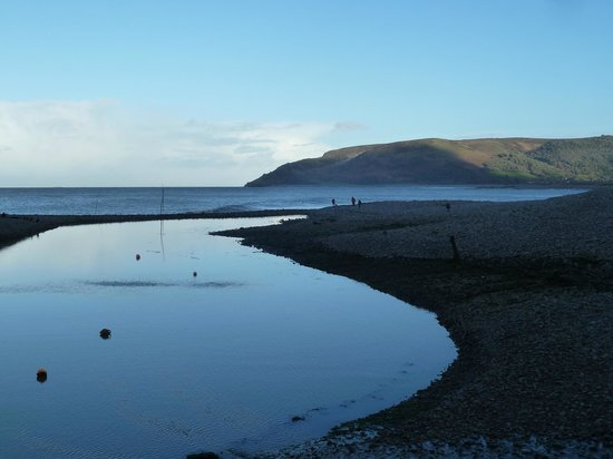Millers At The Anchor: Nice view Porlock Weir