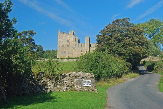 Bolton Castle at Castle Bolton.