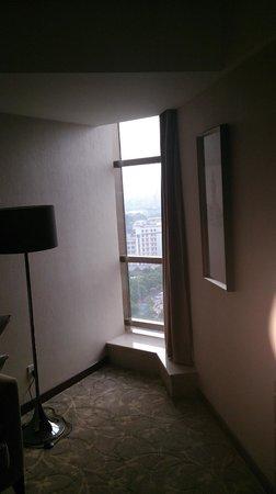 Cavan Hotel : Tiny window in room