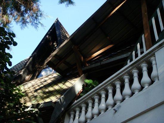 Les Hautes Terres Hotel: détail d'architecture