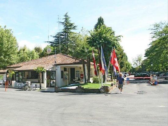 Camping I Tre Moschettieri : entrata, reception