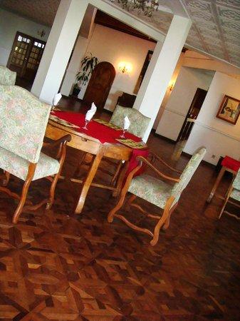 Les Hautes Terres Hotel: la salle à manger