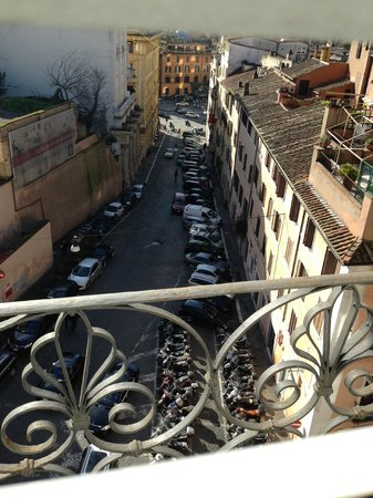 Hotel Trevi Collection: View from room 504 through the shutters