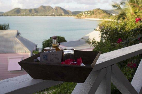 Cocobay Resort : rum per salutare la nostra partenza