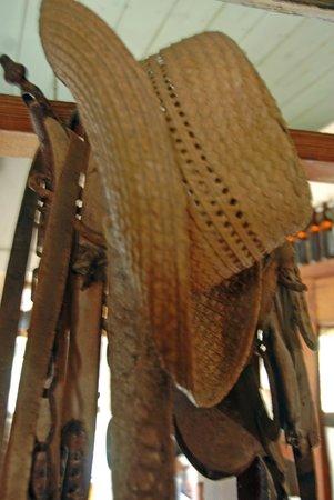 P J Laas's hat still hangs in the welfare cafe