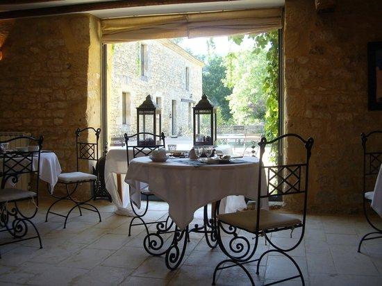 Hotel La Villa Romaine : La salle du petit déjeuner