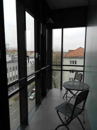Comfort Hotel LT Rock'N'Roll Vilnius: Балкончик