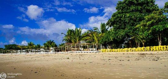 Resort La Torre: Frente da Barraca Nativa