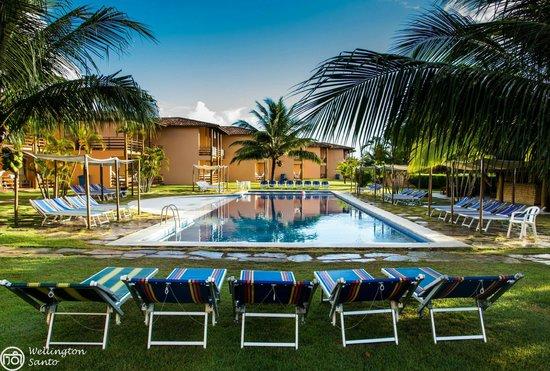 Resort La Torre: Em todo o espaço do Resort se encontra uma bela paisagem entre o hotel e a natureza.