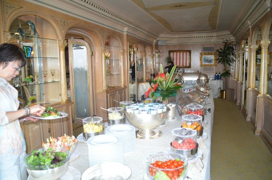 Hotel Splendide Royal : somptueuse salle à manger