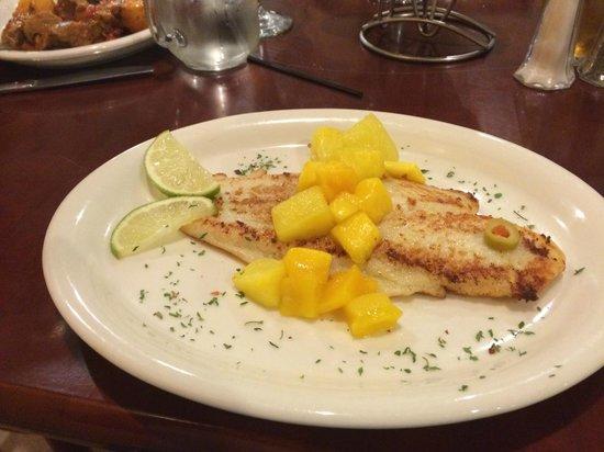 Feli's Cuban Kitchen: Citrus Flounder