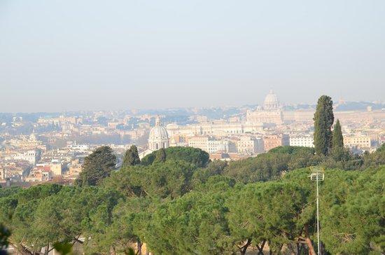 Hotel Splendide Royal : vue de la terrasse
