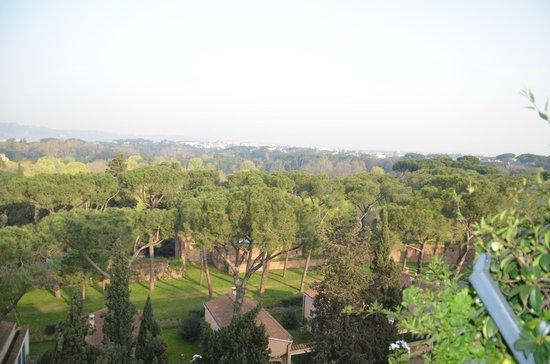 Hotel Splendide Royal: vue sur le parc Borghese