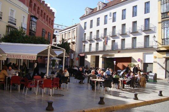 Hotel Rey Alfonso X : фасад отеля.