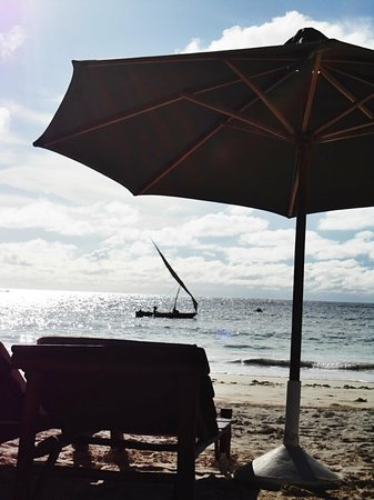 The Sands At Chale Island: Morning on the beach