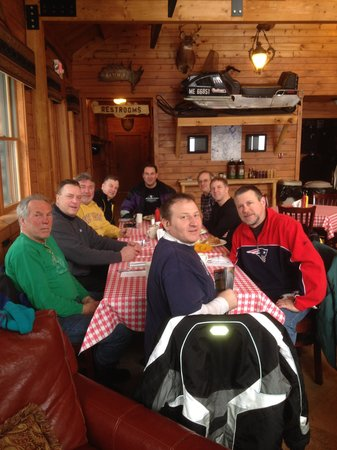 Lake Parlin Lodge & Cabins : Good food too!