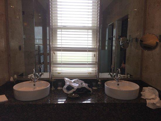 Lough Eske Castle, a Solis Hotel & Spa: 'His n her' sinks