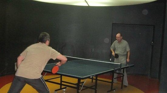 Alva Donna Beach Resort Comfort: Настоькный теннис