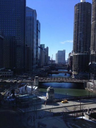 Wyndham Grand Chicago Riverfront: room view