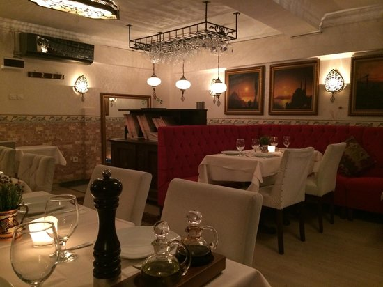 Fuego Restaurant: The upstairs dining room