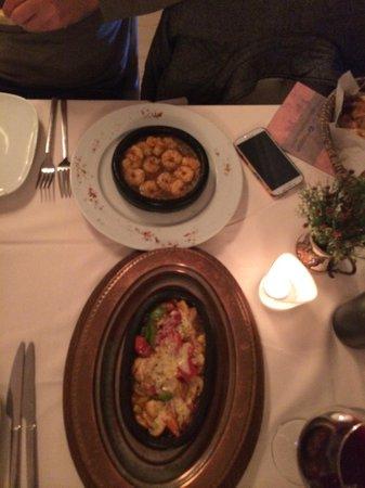 Fuego Restaurant: Starter courses