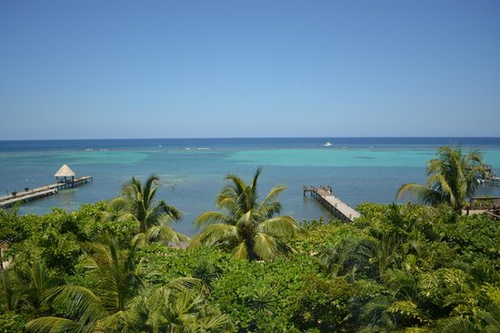 Mayoka Boutique Hotel: View from hotel deck....