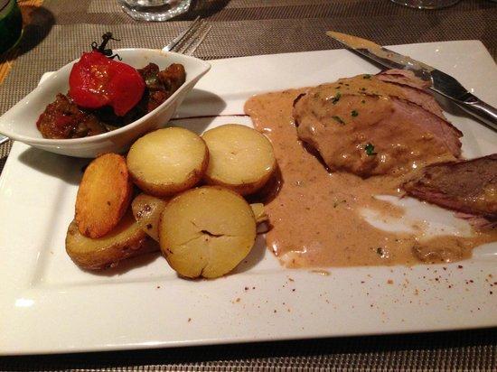 Restaurant le Basilic: Morel sauce