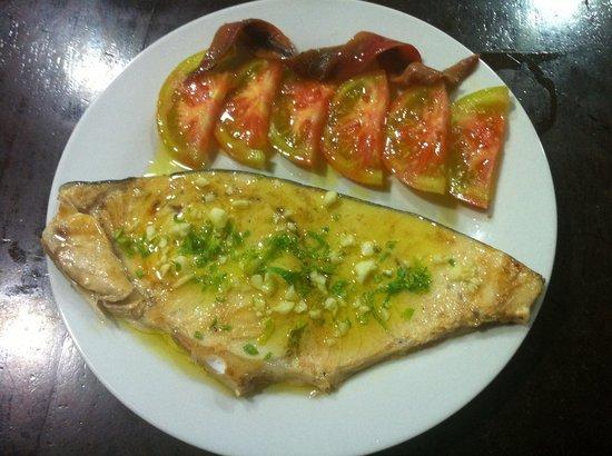 Arte nova torre del mar restaurantanmeldelser tripadvisor for Cocinar pez espada a la plancha