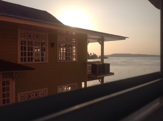 Hotel Bocas Town : vue da chambre sans vue sur mer la 104