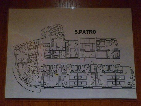 Astoria Hotel : План