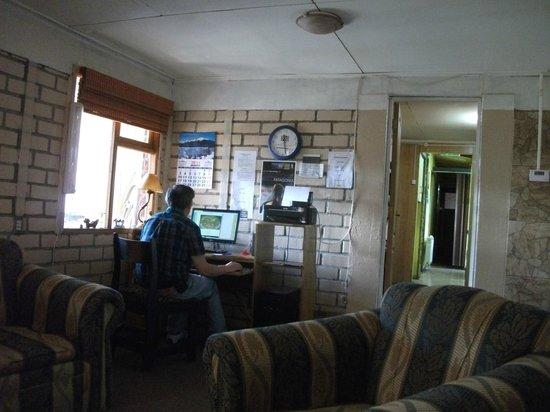 Hospedaje Costanera: Lounge area