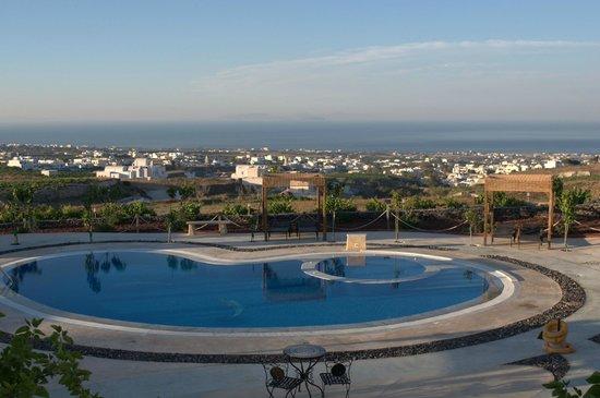 Santorini Mesotopos: Θέα θάλασσα