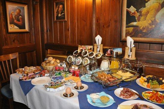 Restaurant U Johana: snídaně
