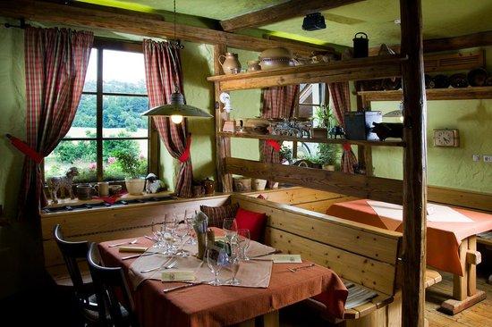Restaurant U Johana : interier restaurace