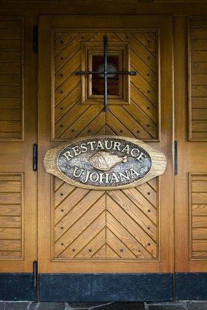 Restaurant U Johana: hlavní vchod