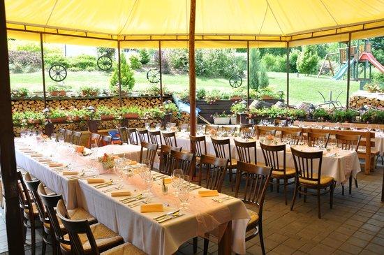 Restaurant U Johana: zahradní restaurace