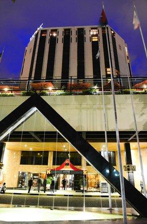 LAICO Regency Hotel at Dusk