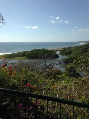 Hotel Boutique Lagarta Lodge: View from veranda