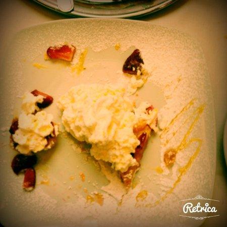 Le Tournedos : crostata fragole crema panna