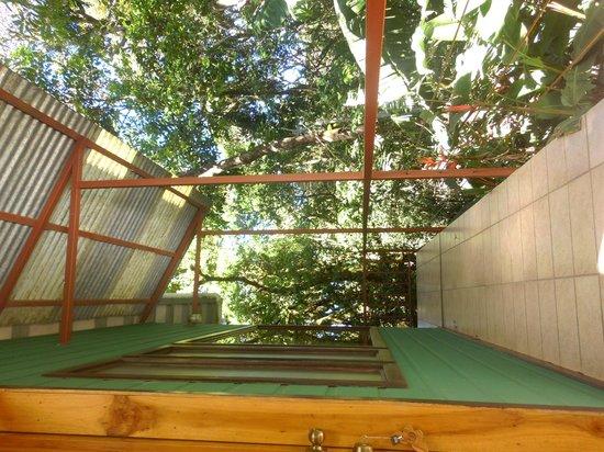 Mariposa Bed & Breakfast: Balcon de la Habitacion