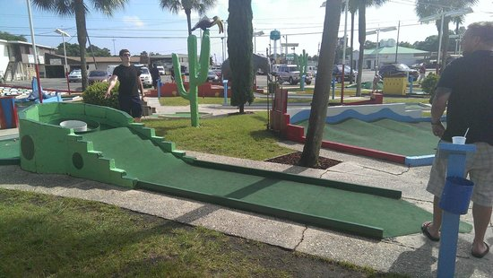 Goofy Golf: Planning the perfect route