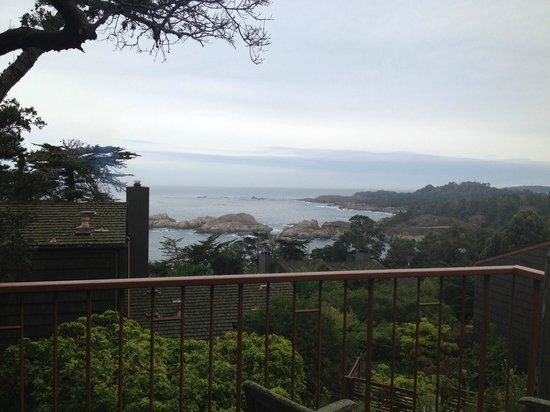 Hyatt Carmel Highlands: Spectacular view looking towards Carmel