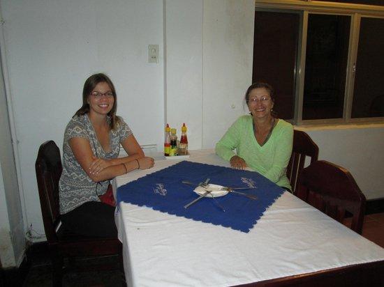 Phuong Hoang - Phoenix Hotel : BREAKFAST  TABLE