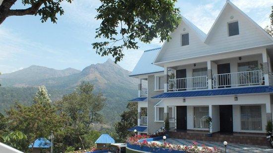 Camellia & Elettaria TheTwin Resorts : view wonderfull ,