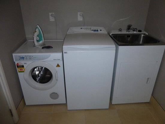 Oaks Shores: its own laundry room