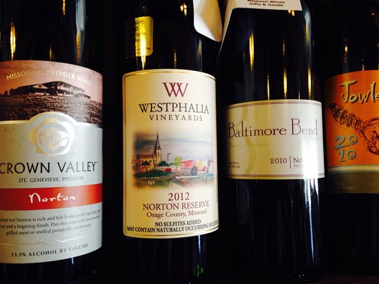 Willow Spring Mercantile: Missouri wines