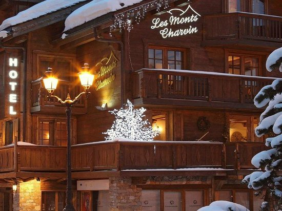 Les Monts Charvin : Hotel